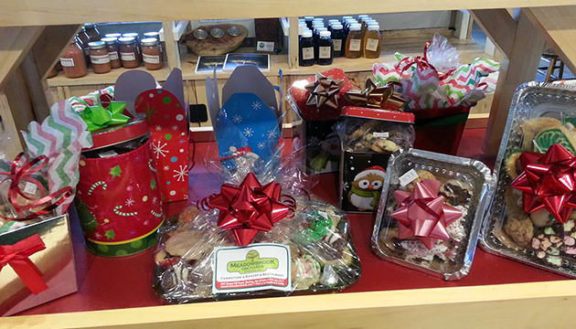 Photo of gifts at Meadowbrook Orchards farmstore